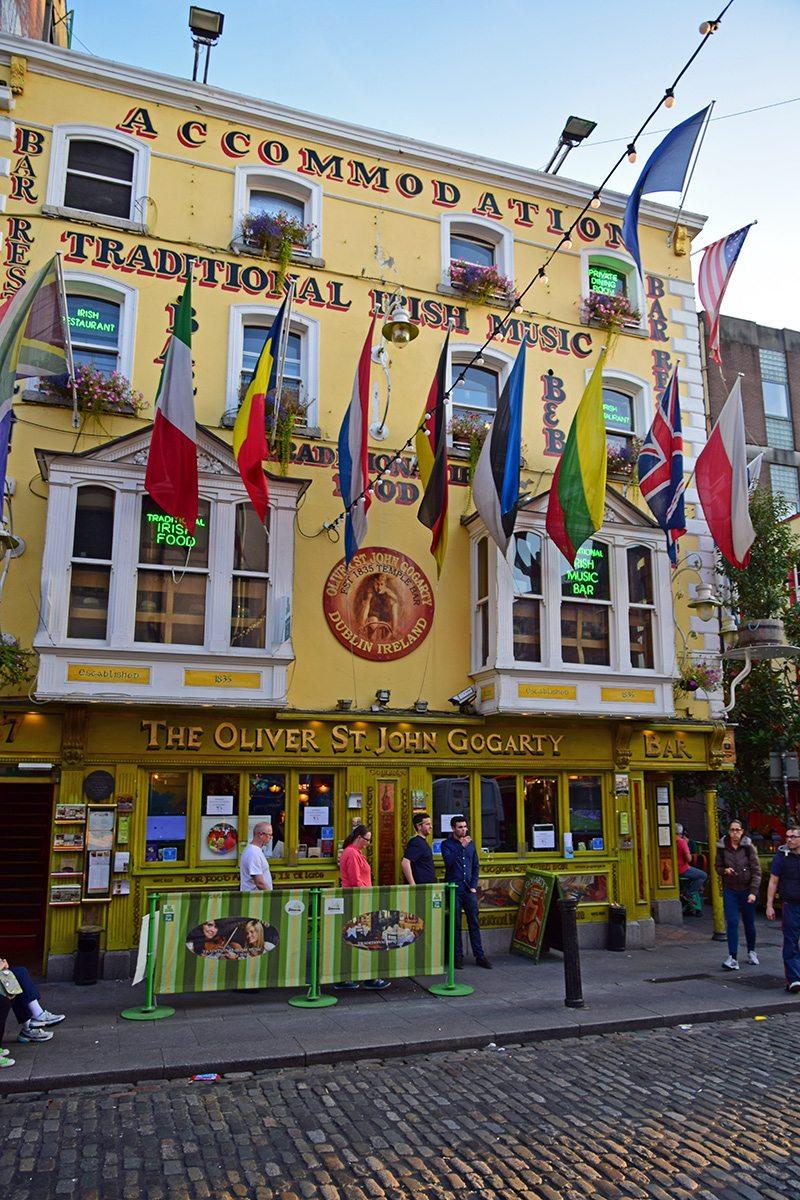 temple bar - írske krčmy