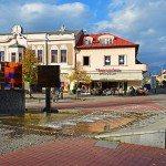 Liptovský Mikuláš - fontána na námestí