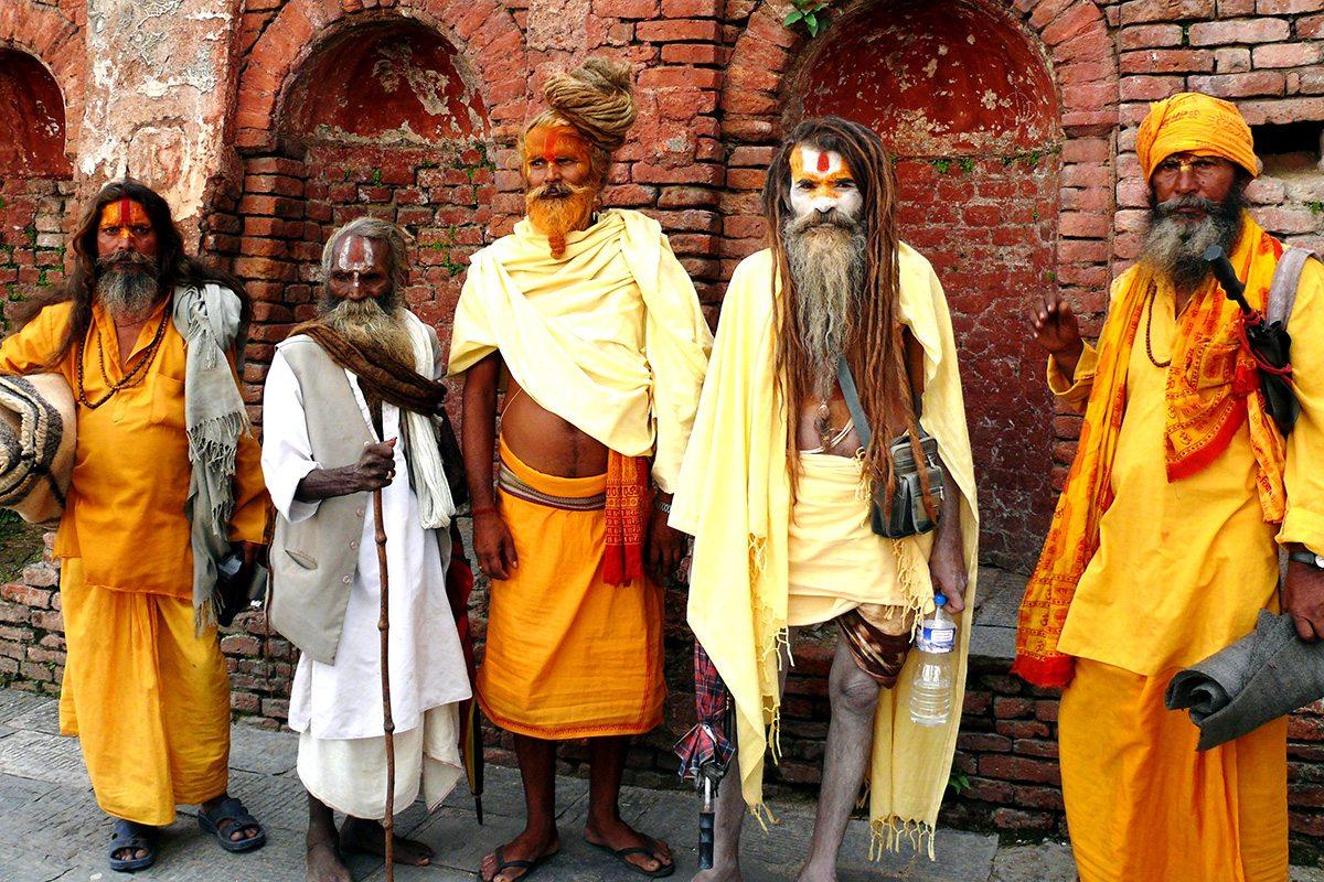 Duchovni v Nepále