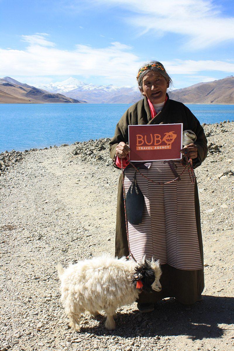 jazero Yamdrok, Tibet
