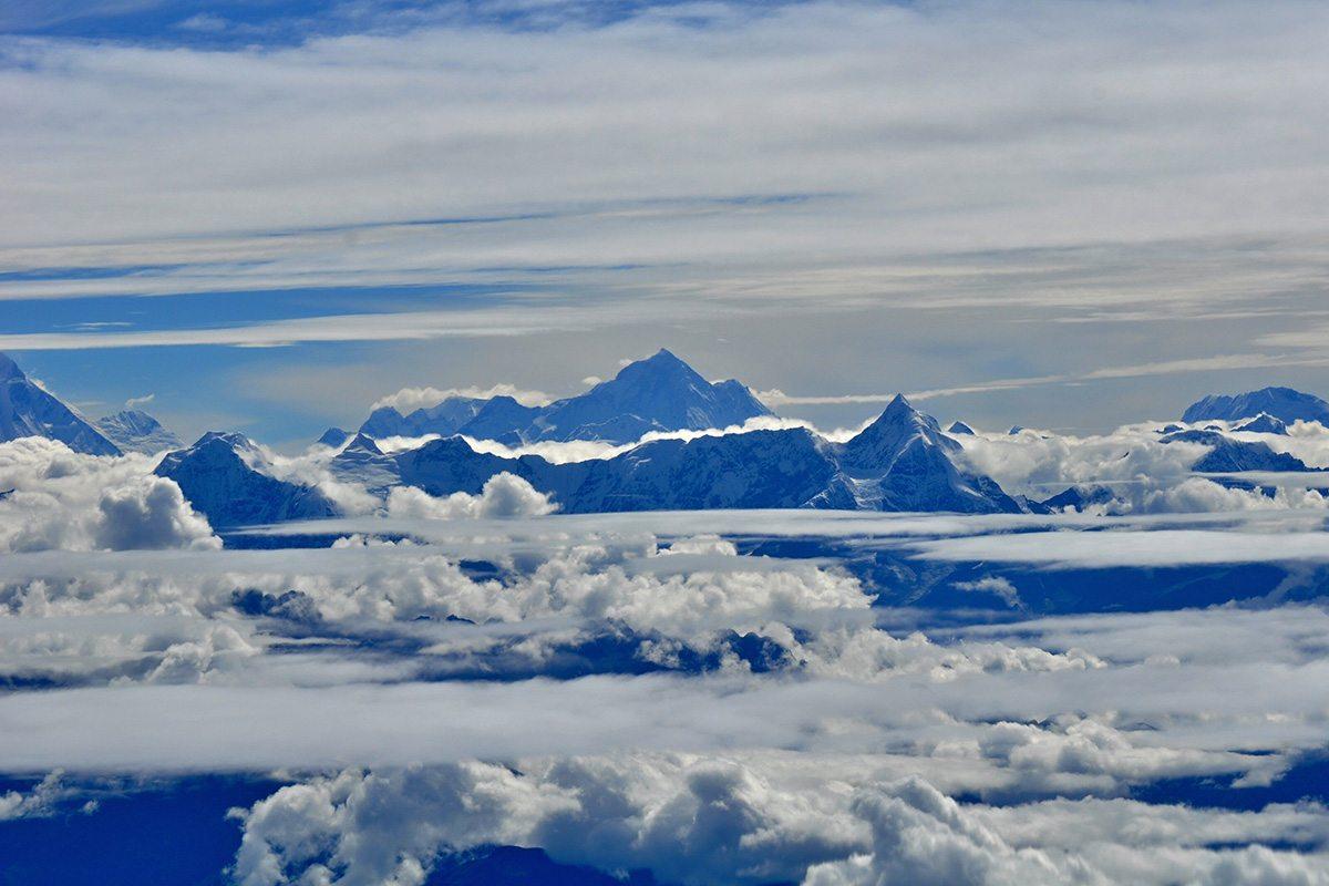 Strecha sveta - Mount Everest
