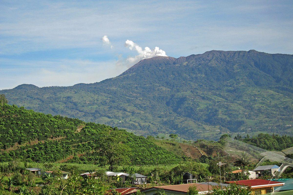 Costarica vulcano