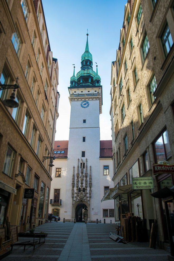 stará radnica v Brne