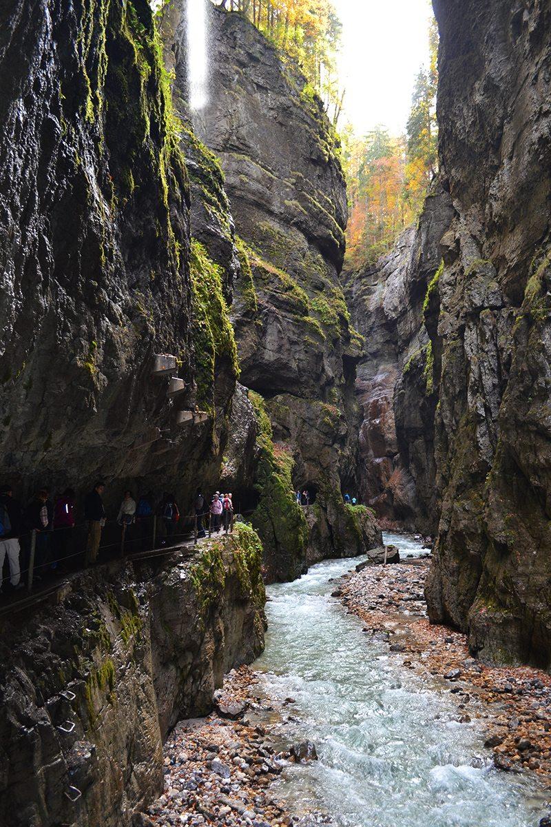 turistická trasa Partenkirchen