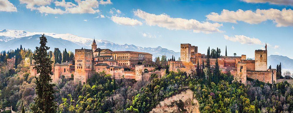 Andalúzia - Alhambra v Granade
