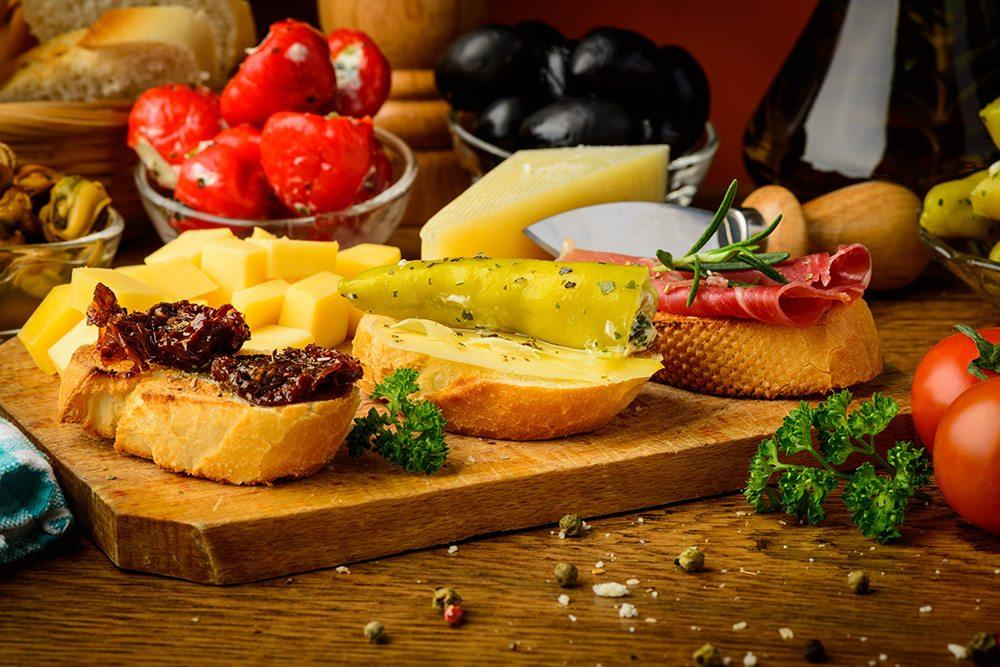 Španielska kuchyňa - Tapas