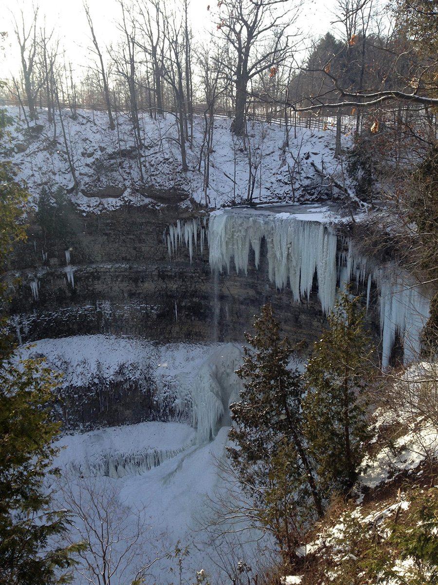 Tews waterfalls