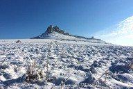zamrznutý spišský hrad