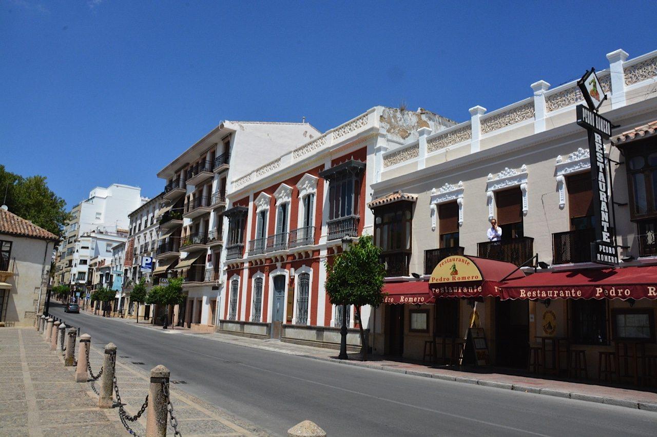 Ronda budovy
