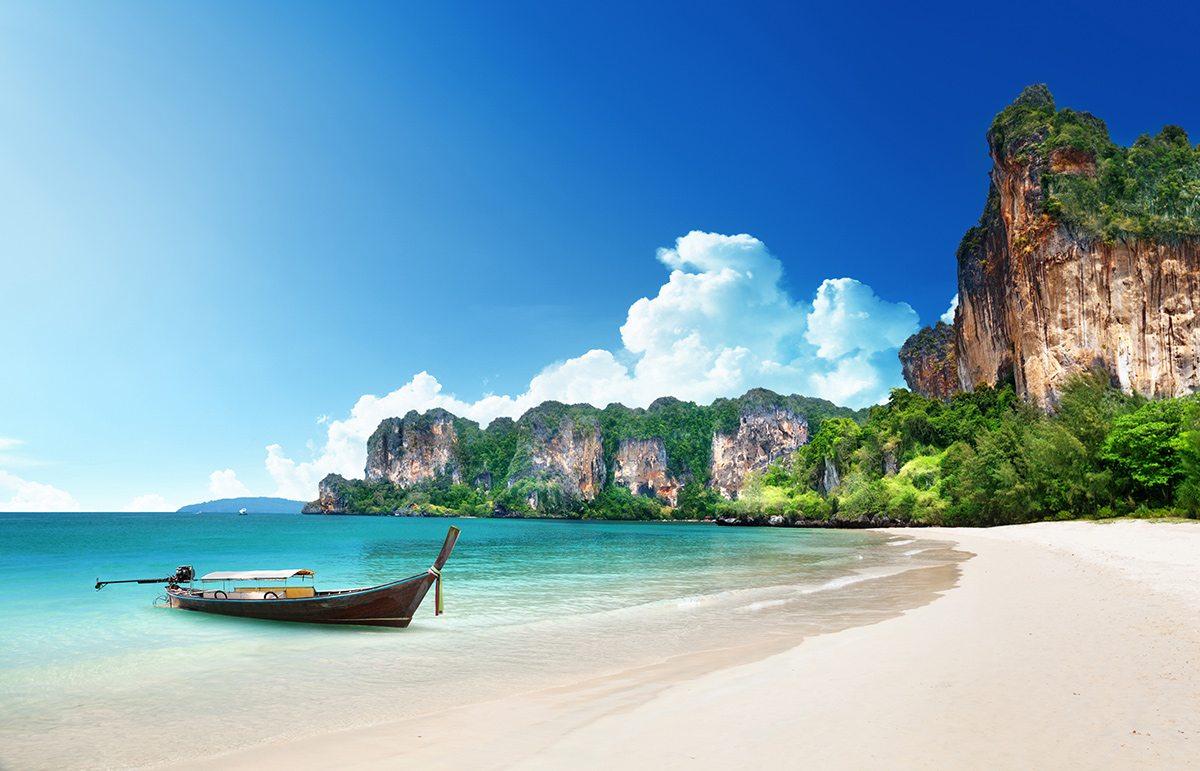 Thajsko - najkrajšie pláže