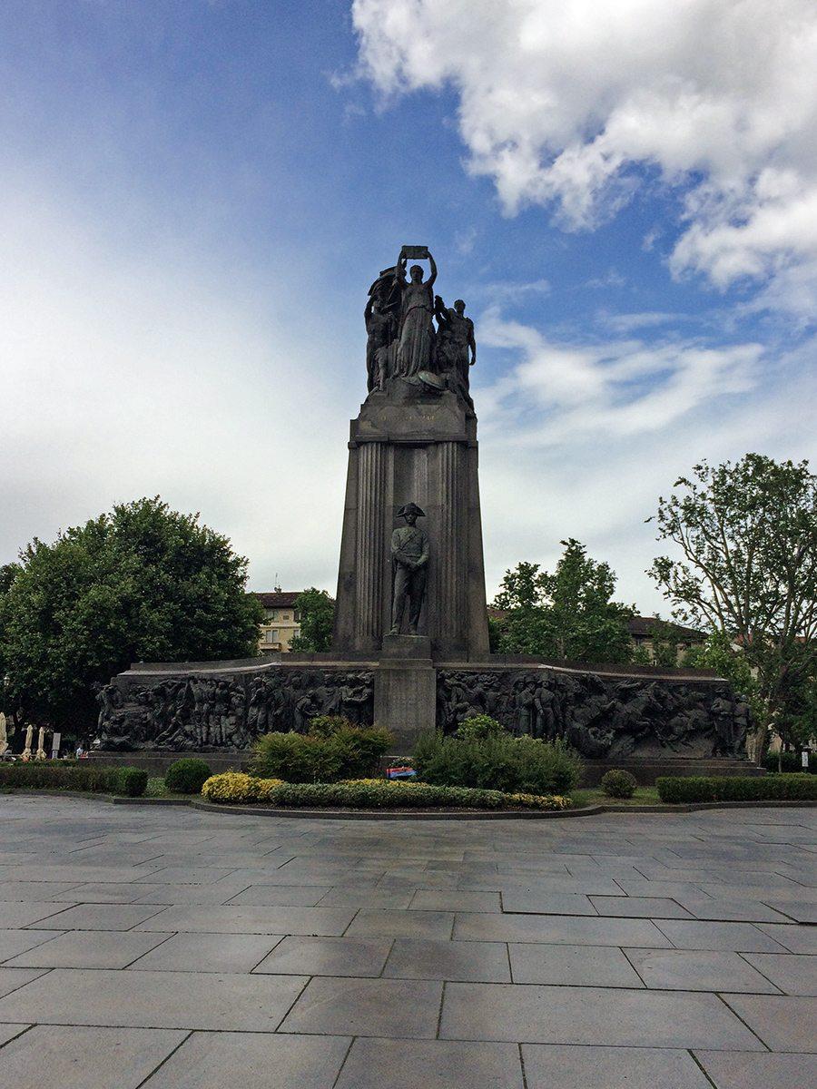 monument v Turíne