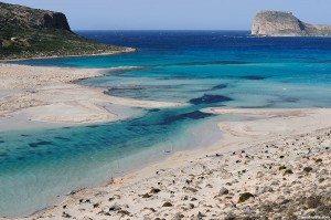Kréta - pláž Balos