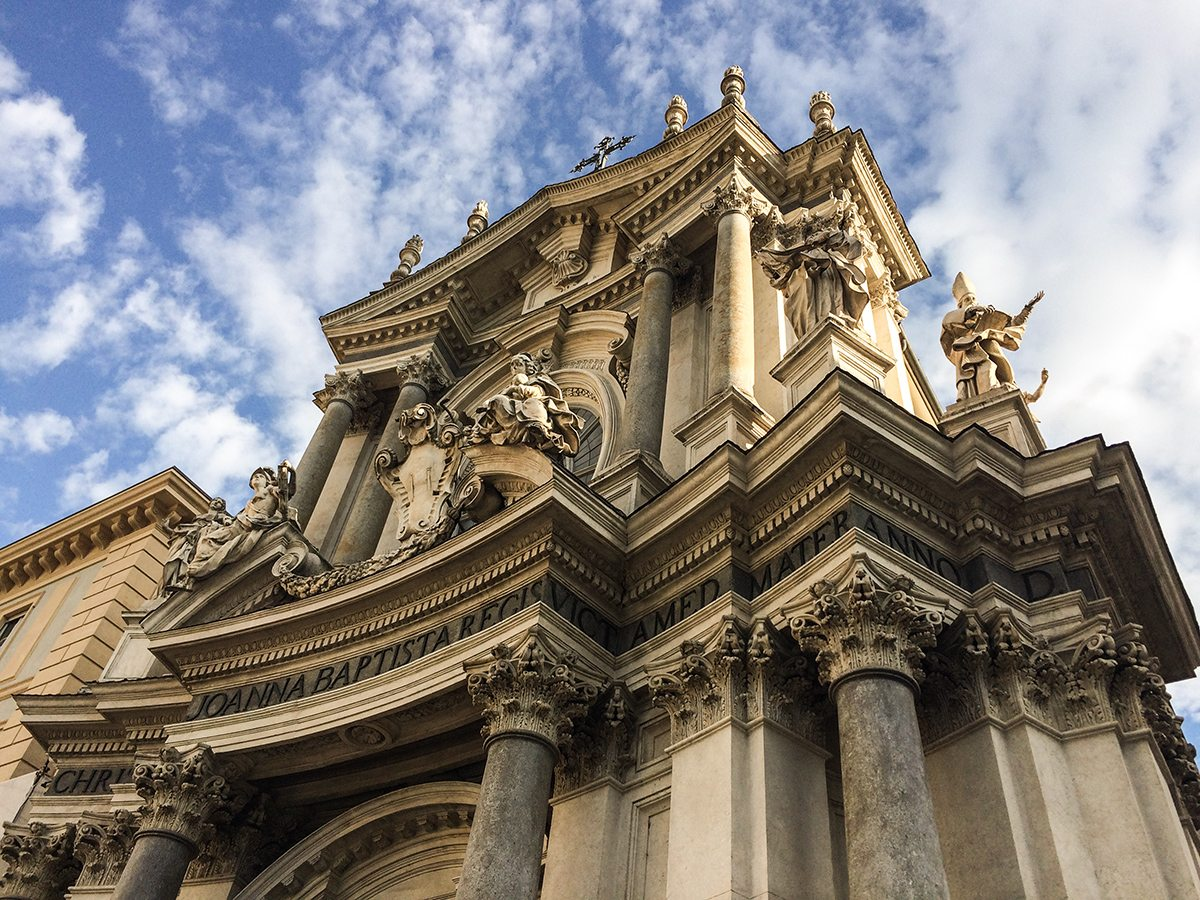 san carlo - kostol st. cristina