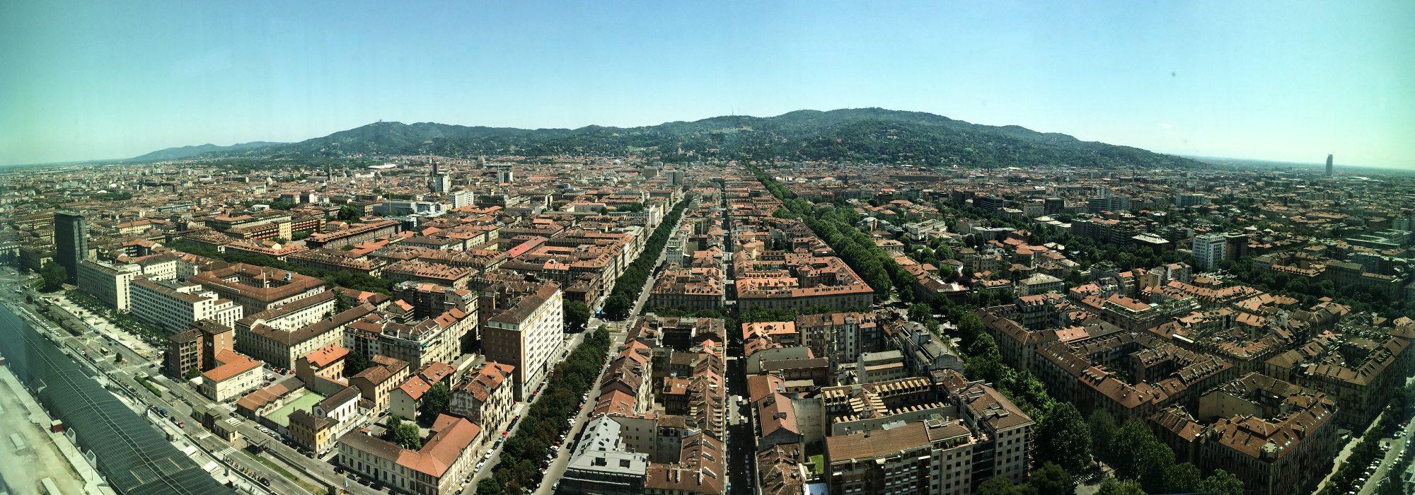 panorama Turína