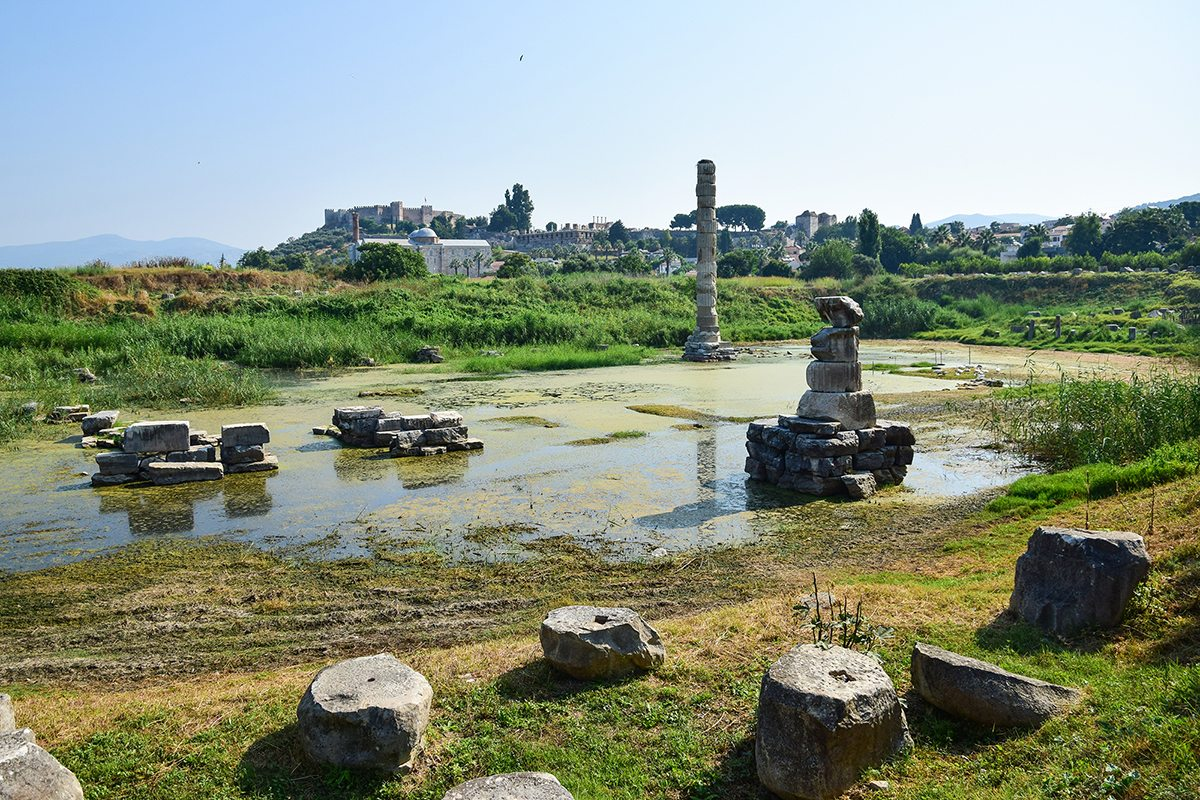 chrám bohyne Artemis