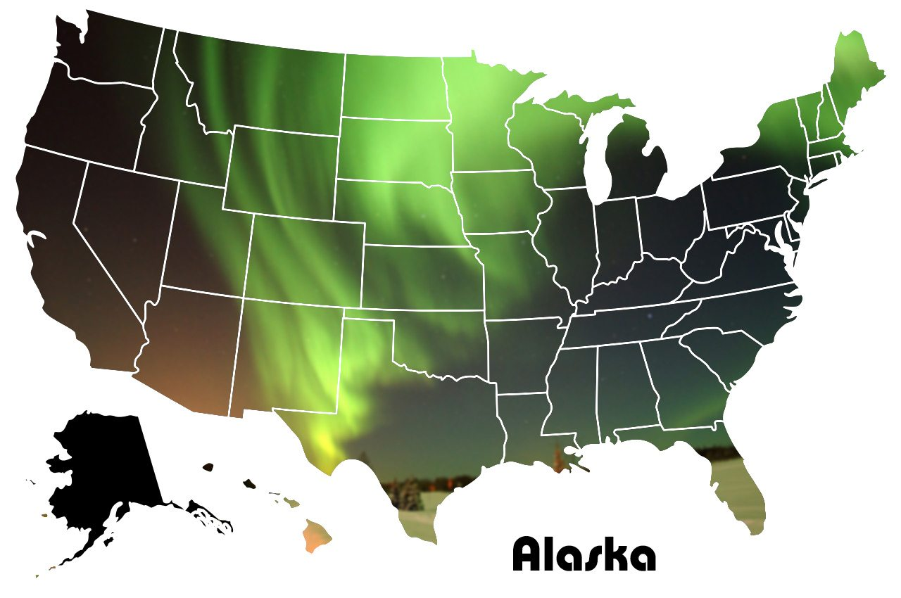 Aljaška zaujímavosti