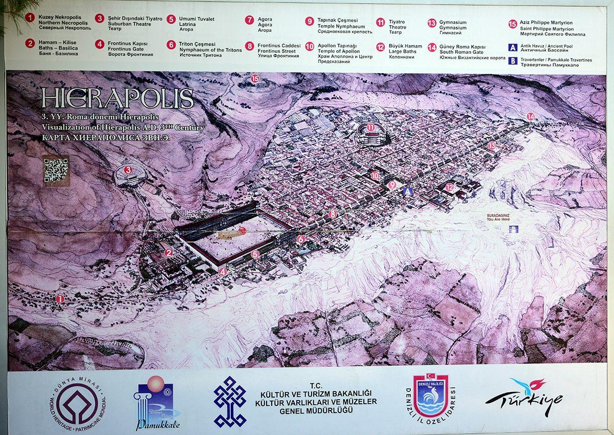 hierapolis mapa