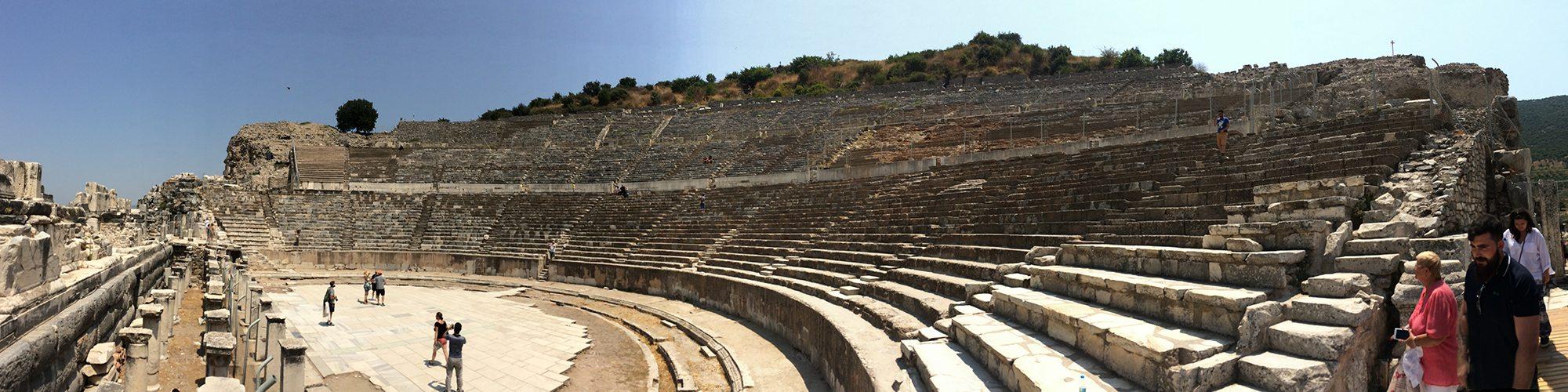 antické divadlo v Efeze