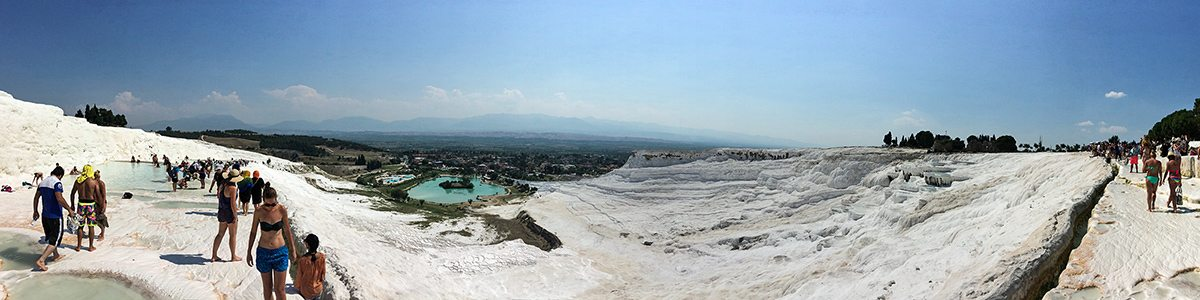 pamukkale panorama z hora