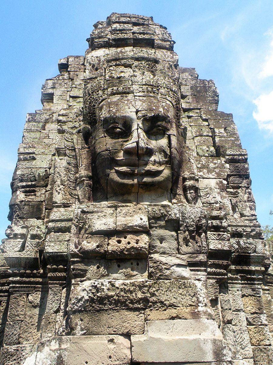 tvár Angkor