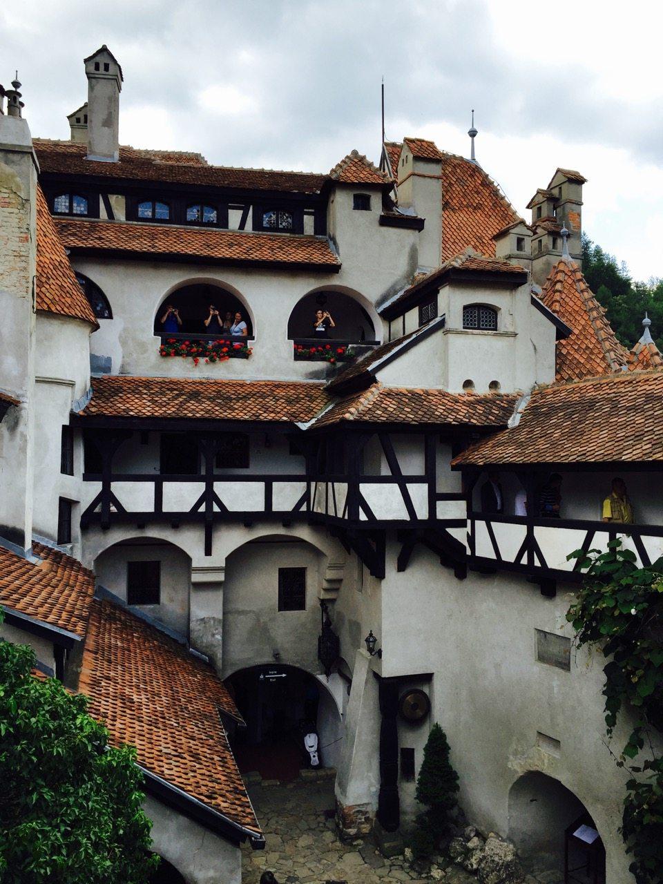 Bran balkony