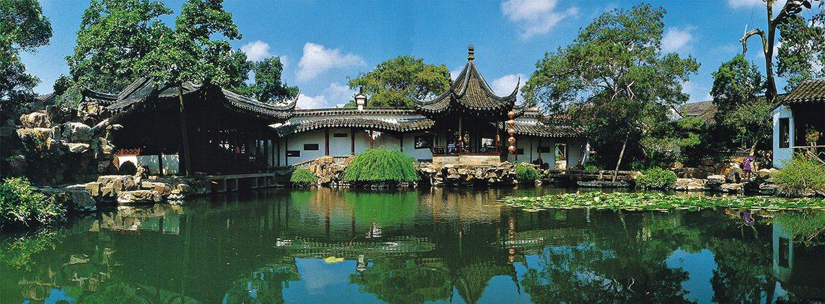 tradičná čínska záhrada