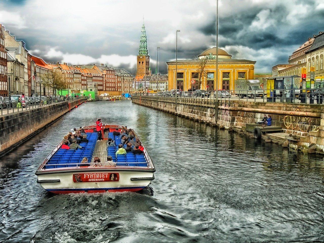 kodaň výlet loďou