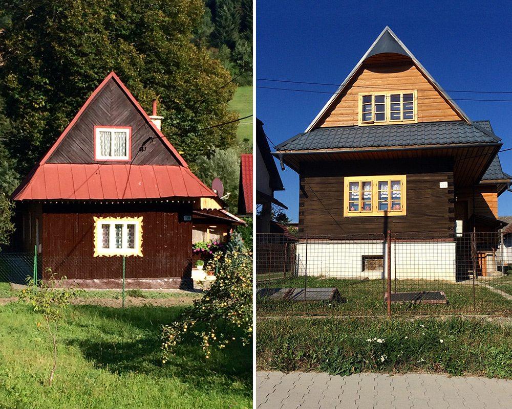 oravské domčeky