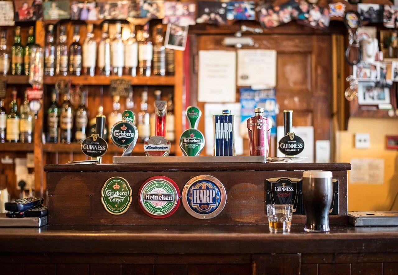 írsky bar