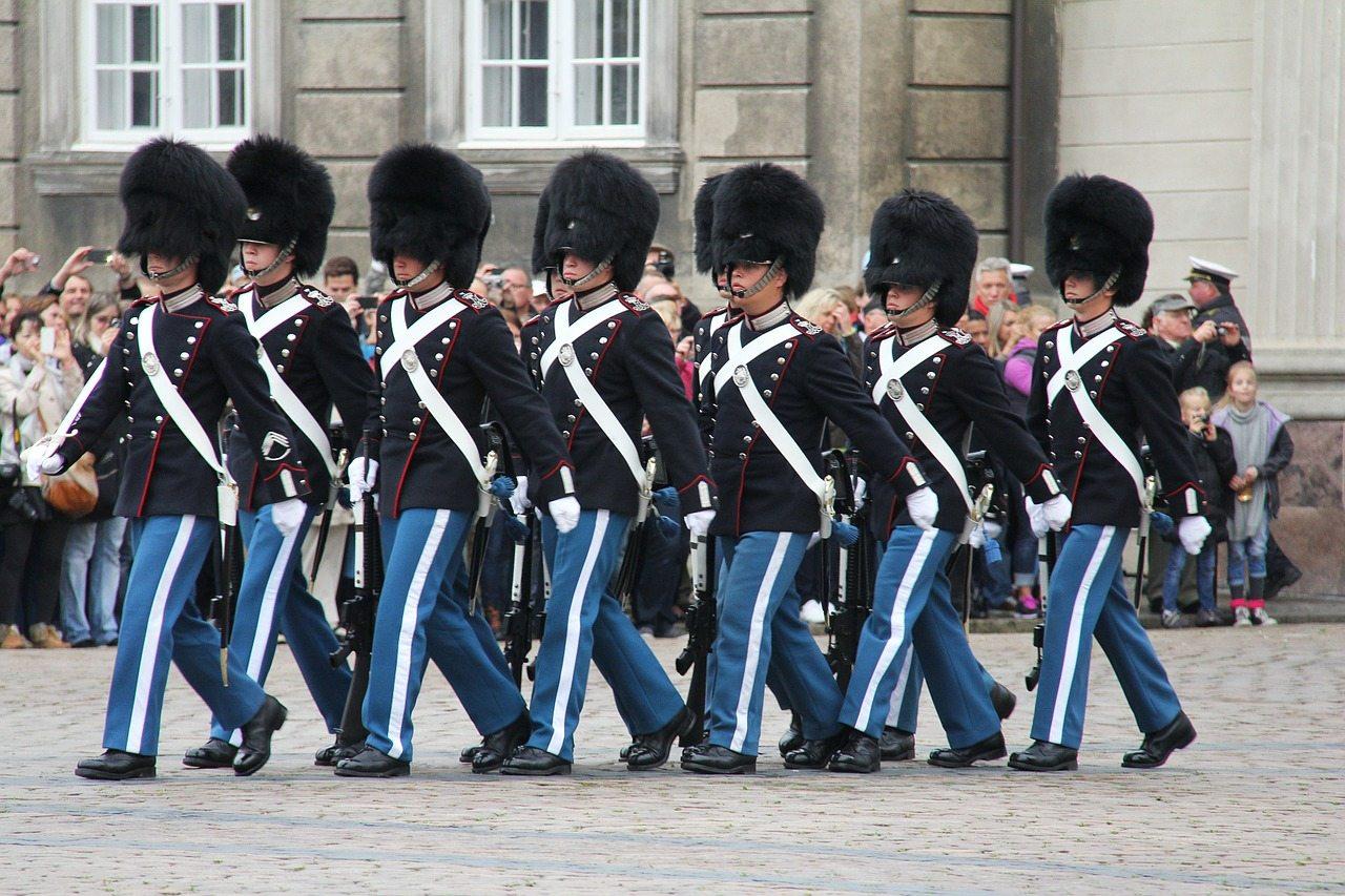 kráľovská stráž kodaň
