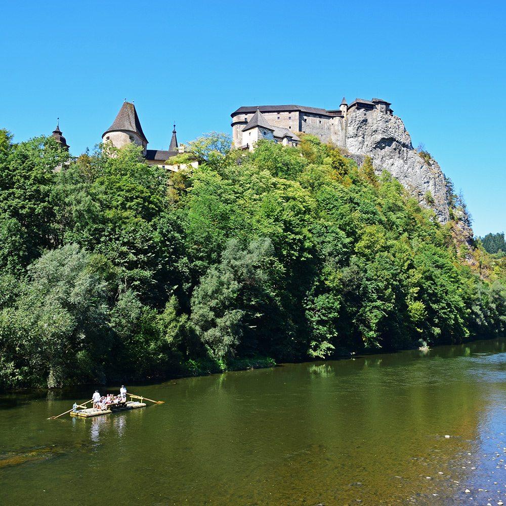 plte oravský hrad