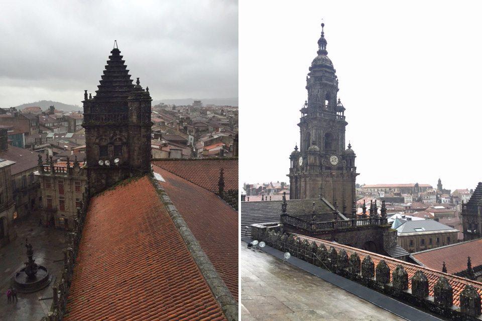 strecha katedraly santiago