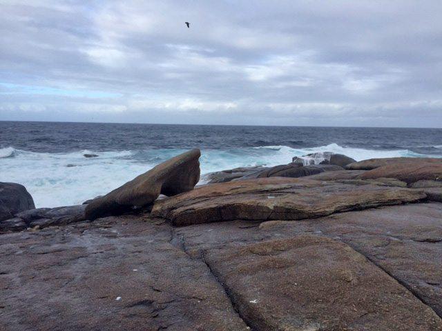 kamenný čln muxia