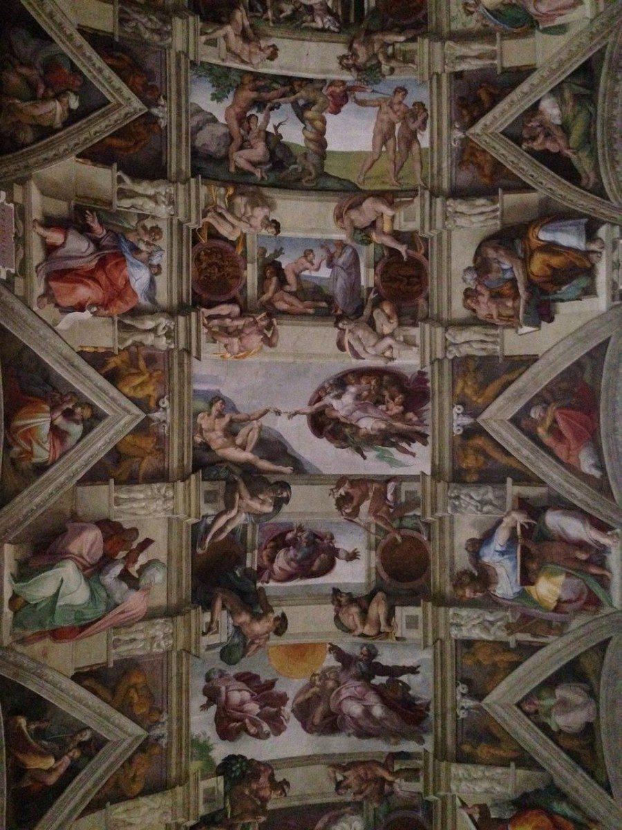 Michelangelove fresky - rím