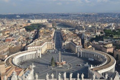 Rím a Vatikán - námestie svätého Petra