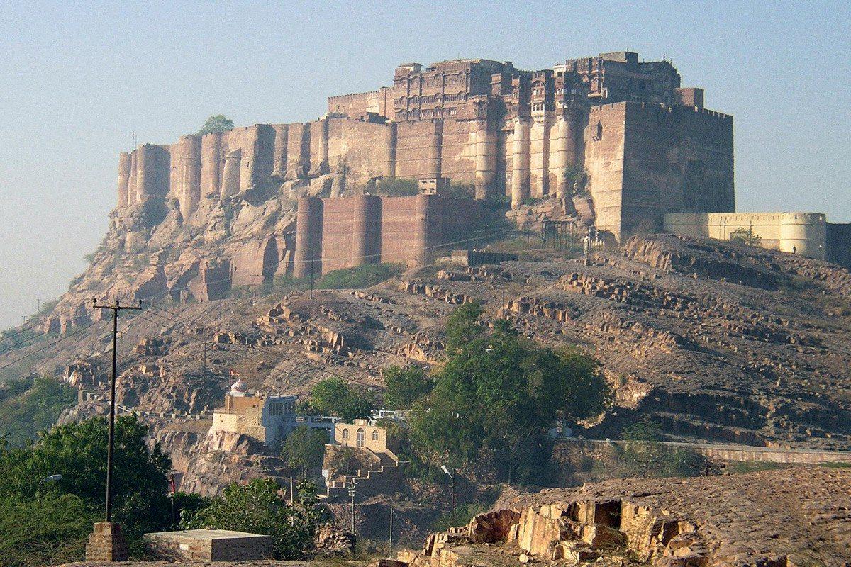 pevnosť Mehrangarh