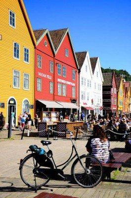 Bergen - Nórsko