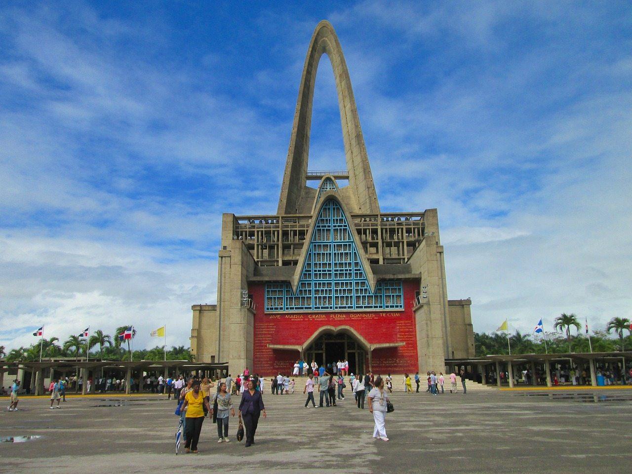 dominikánska republika - kostol