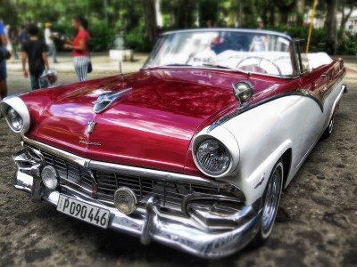 kuba - veterány