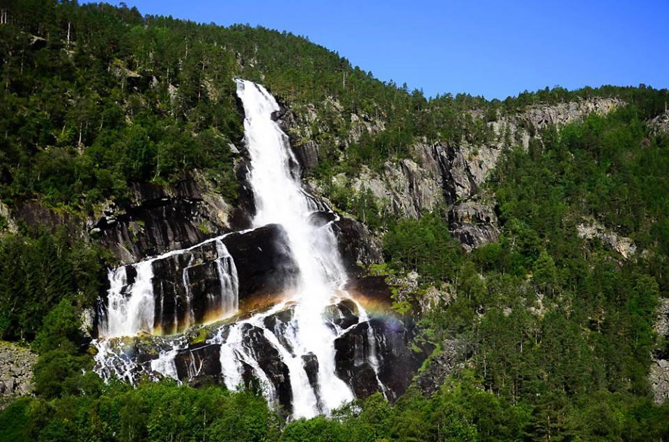 nórsko - vodopády