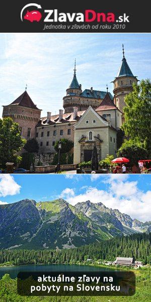 ubytovanie a pobyty na slovensku