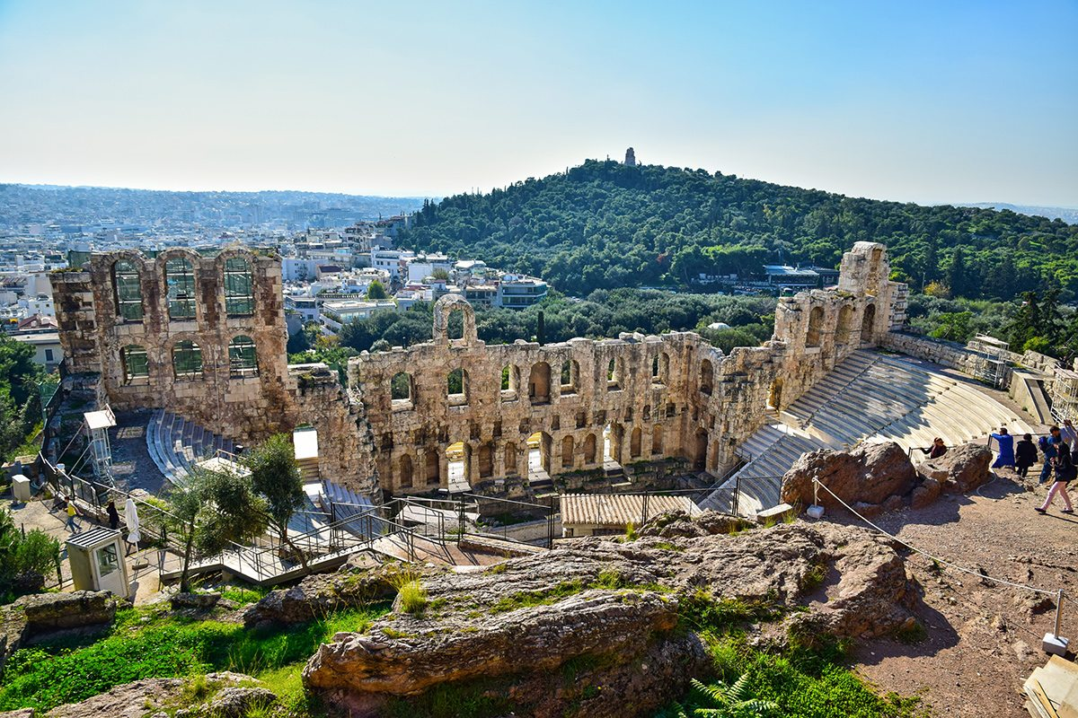 Odeon Heroda Attika
