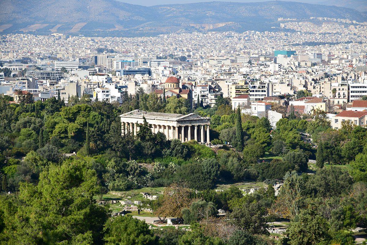 Hefaistov chrám - Agora