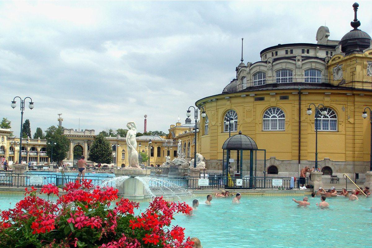 maďarsko - kúpele Budapešť
