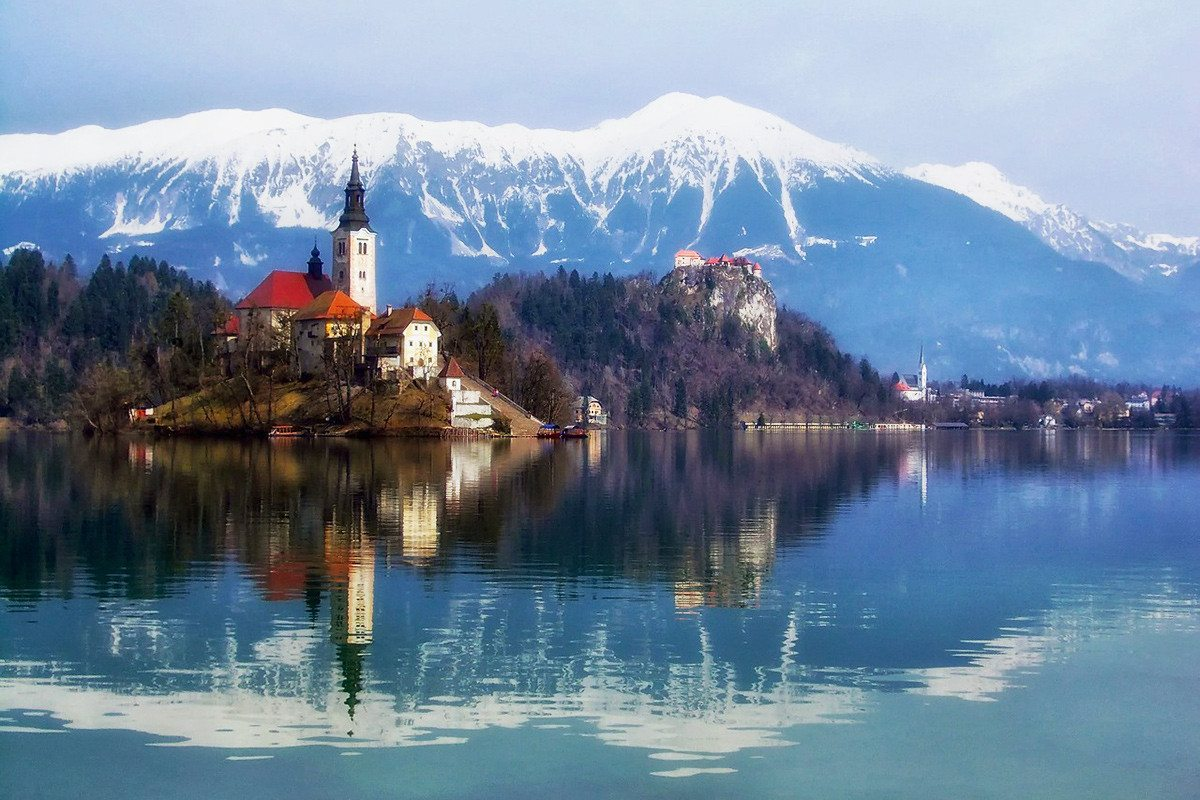Jazero Bled - Slovinsko