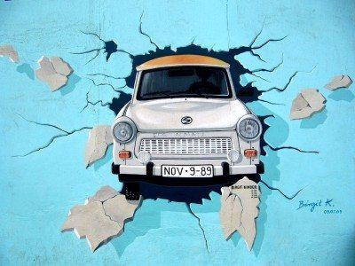 Berlínsky múr - graffiti