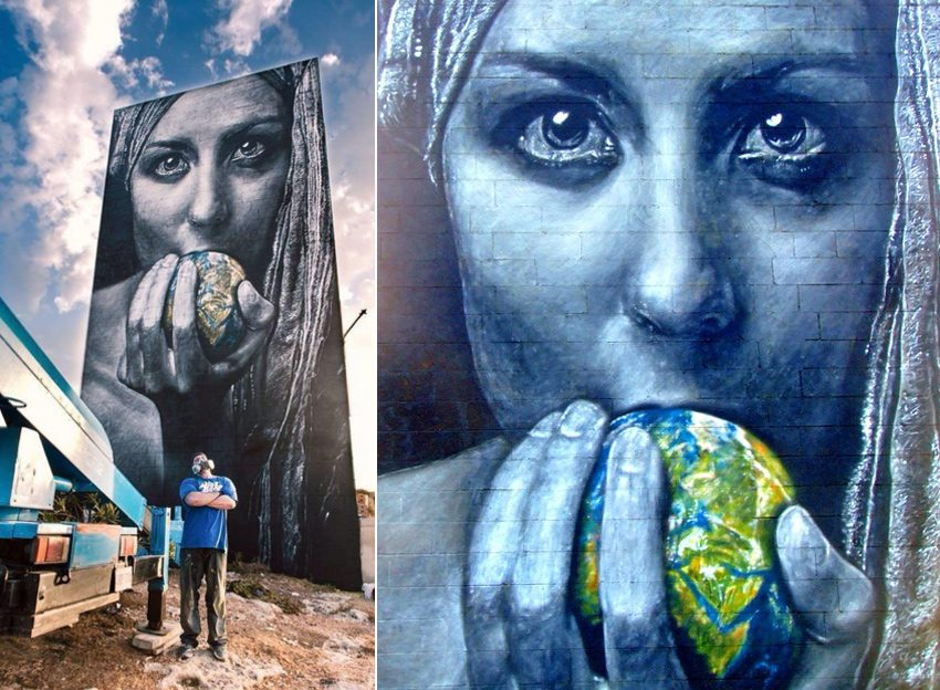 White Rocks Malta grafitti