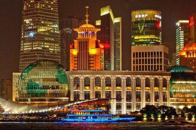 najväčšie mestá na svete - šanghaj