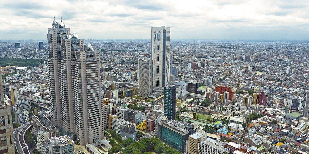 tokyo - najväčšie mestá