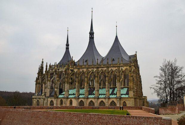 kutná hora - chrám sv barbory